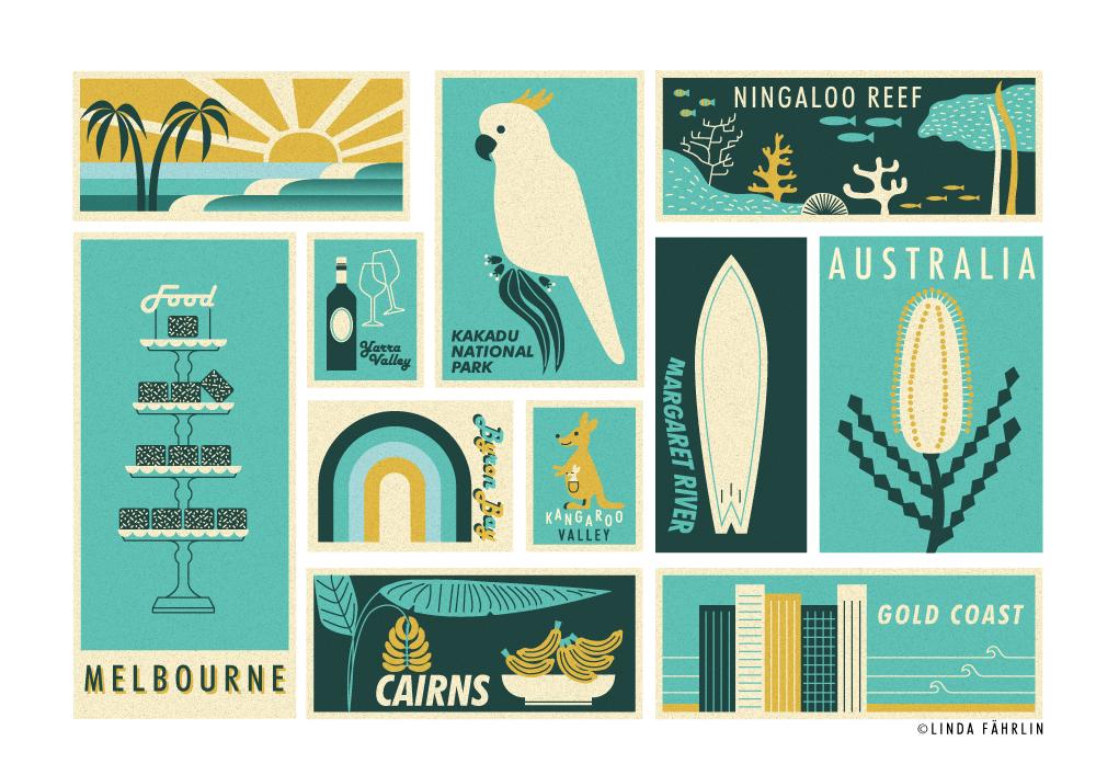 Illustration-travel-Australia-linda-fahrlin