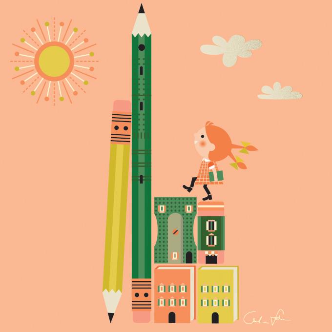 linda fahrlin illustration bologna bookfair 2018