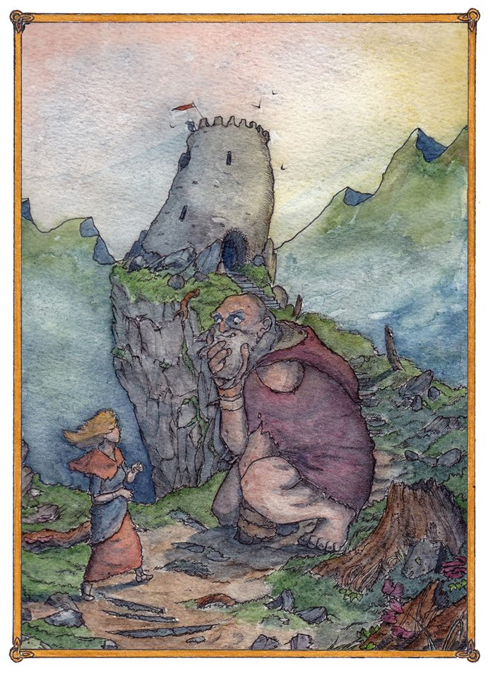 Blaaind and the Giant