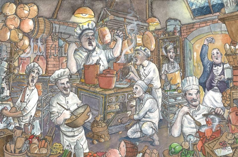 Parisian Kitchen