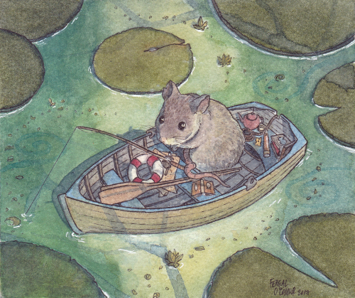 Fishing Mouse