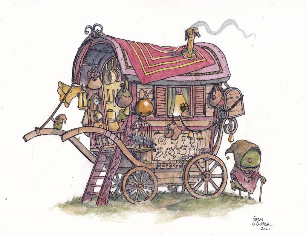 Frog Tinker Wagon