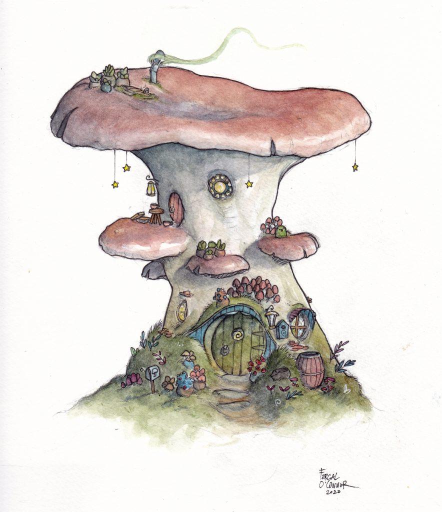 Cosy Mushroom Home
