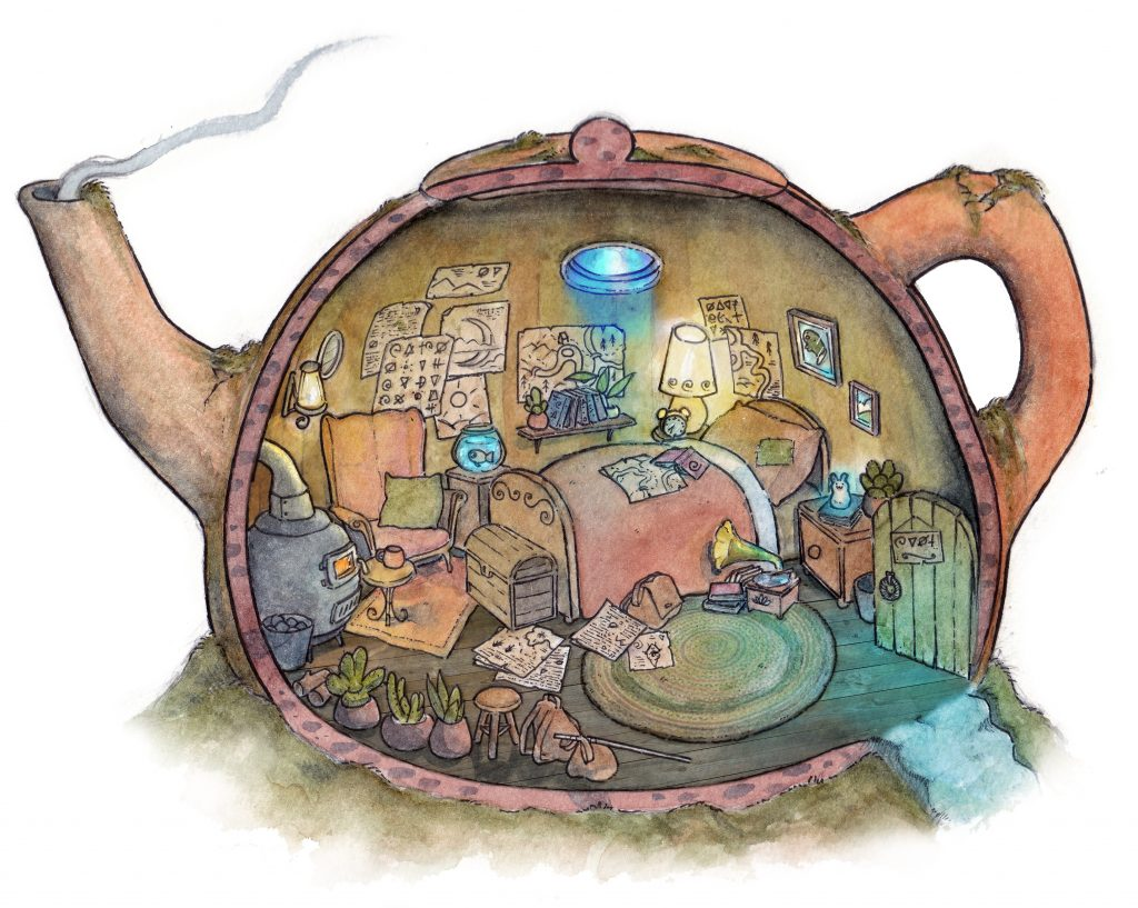 Inside a Cosy Teapot Home