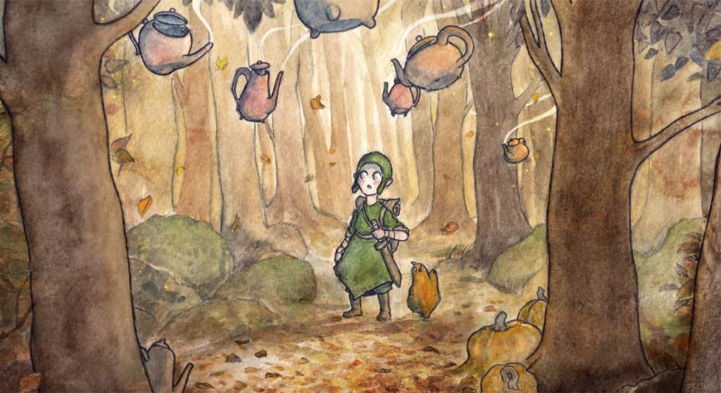 An Encounter in the Woods