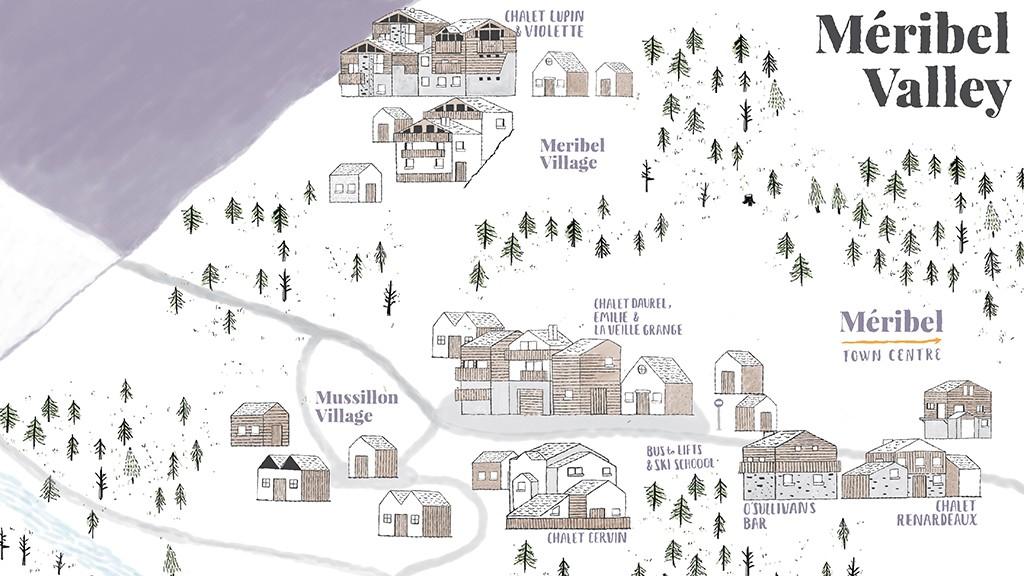 Topflight Chalet Map