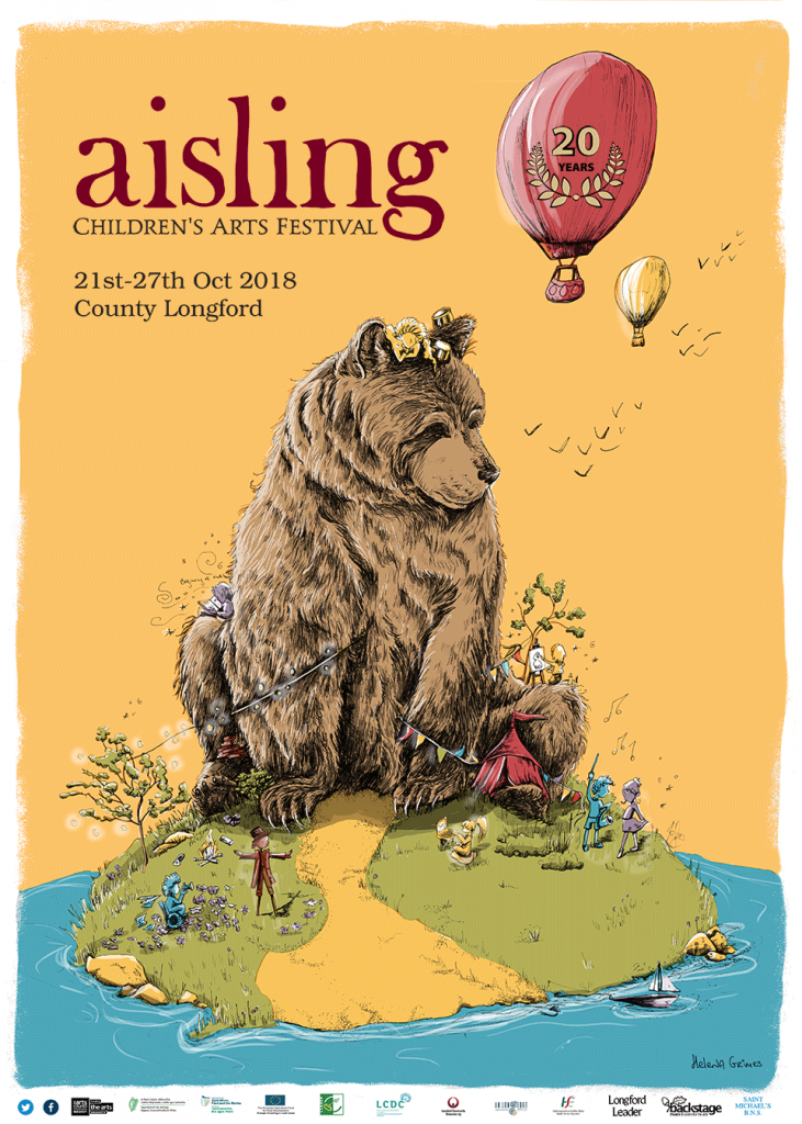 Aisling Arts Festival Poster by Helena Grimes