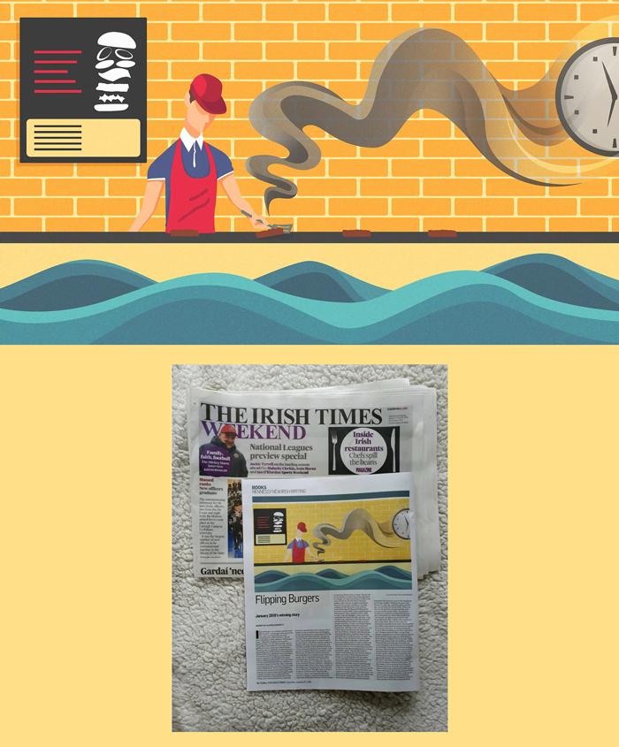 Irish Times Illustration