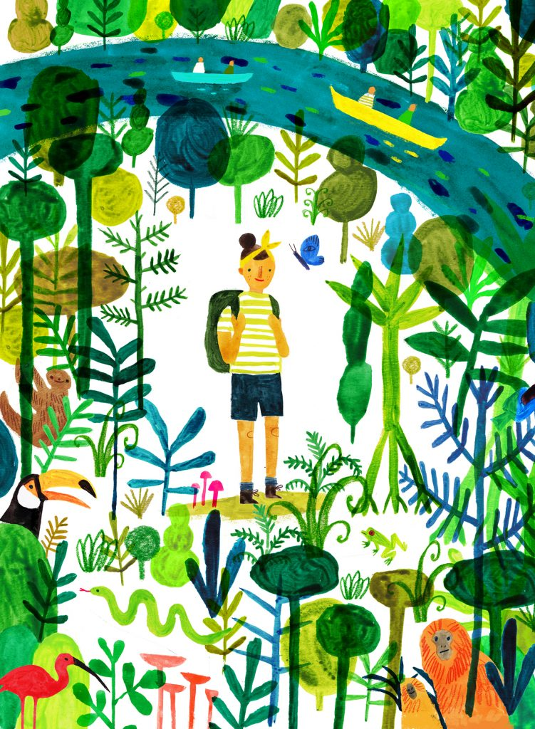 Rainforest crop