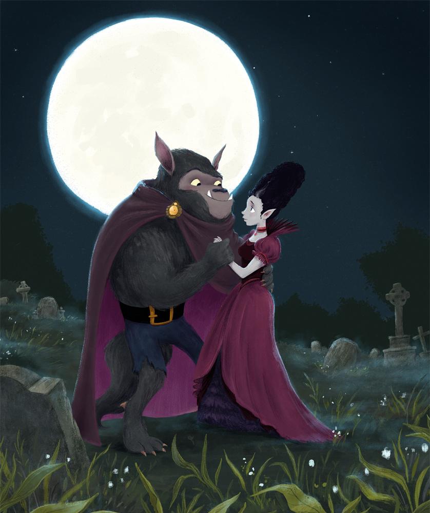 Luna and Dusk