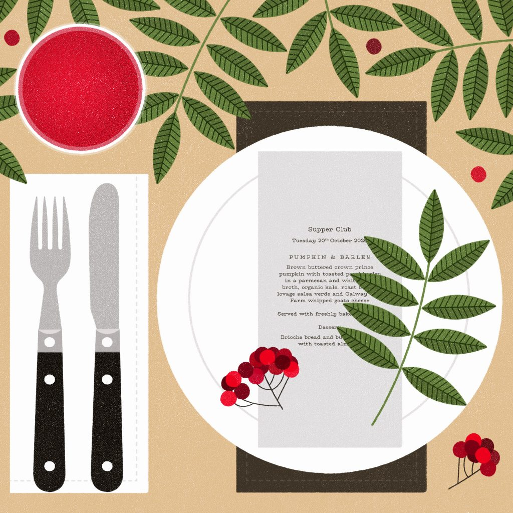 Lydia Hughes - Autumn Table Setting