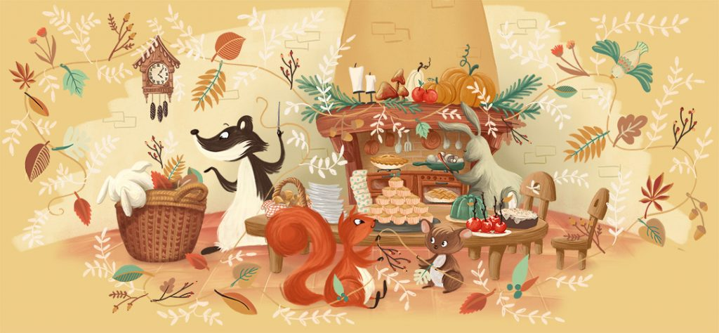Autumn Party - Audrey Dowling