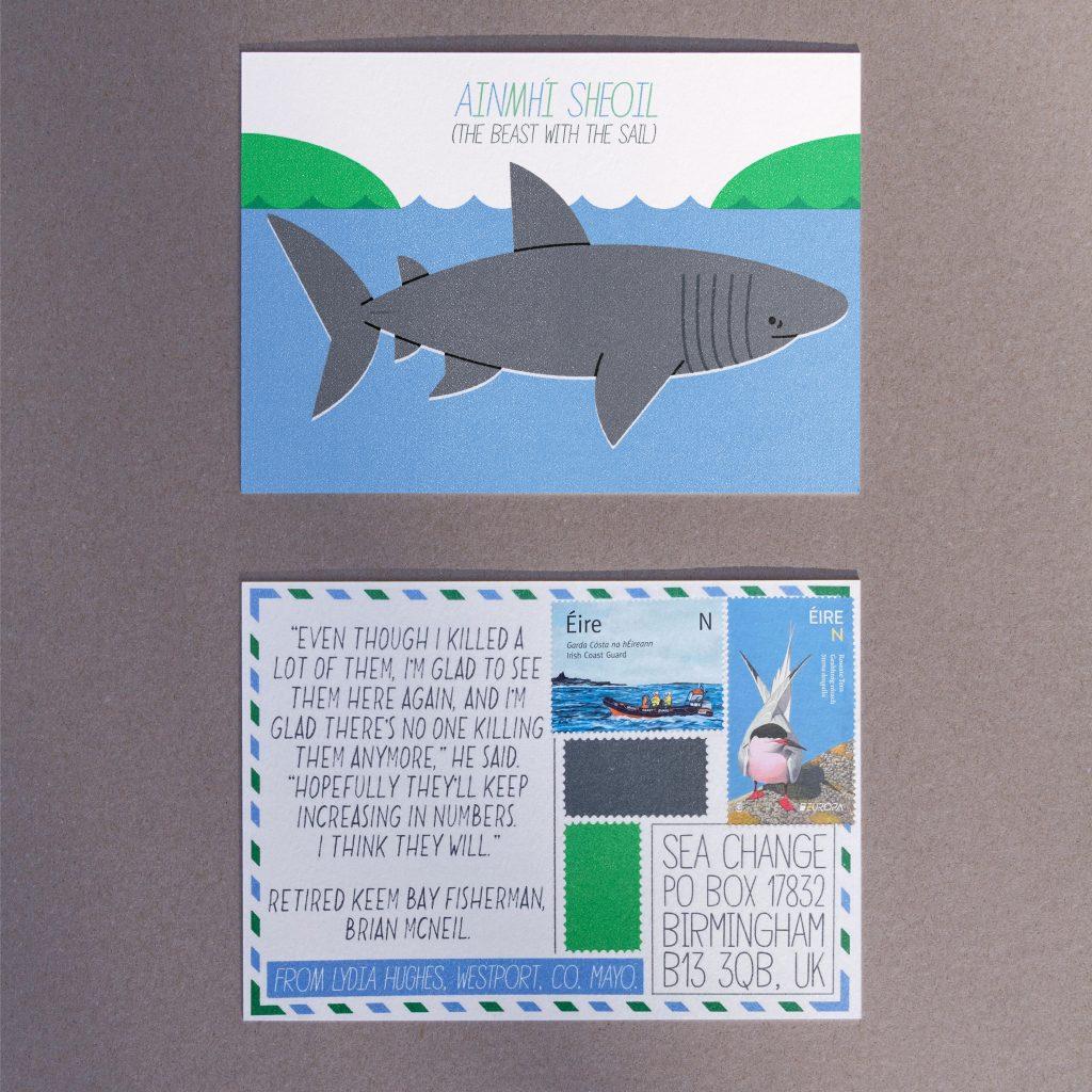 Lydia Hughes - Sea Change Postcard