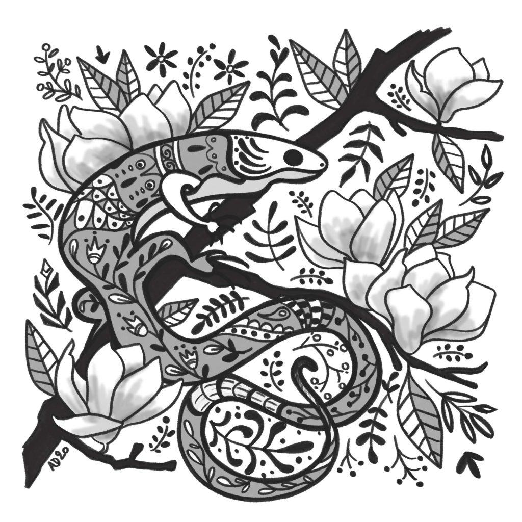 lizard - Audrey Dowling