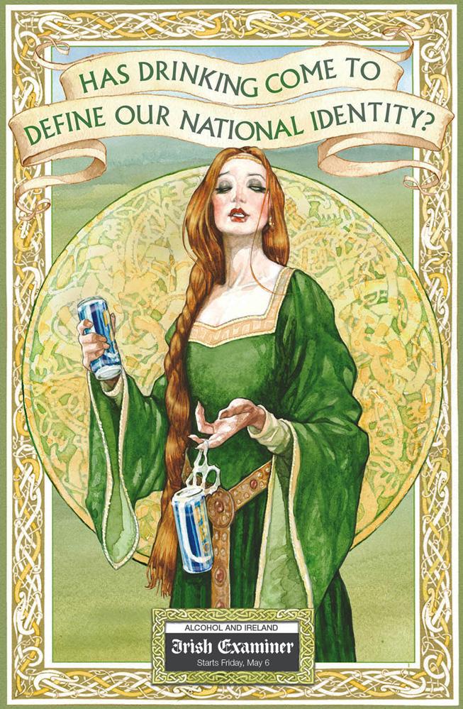 Irish ExaminerAlcohol Poster