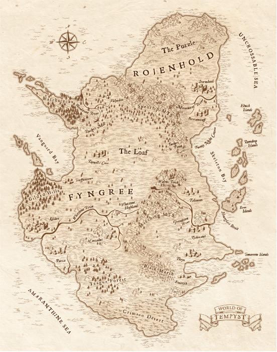 Gryphons-Eye-Map