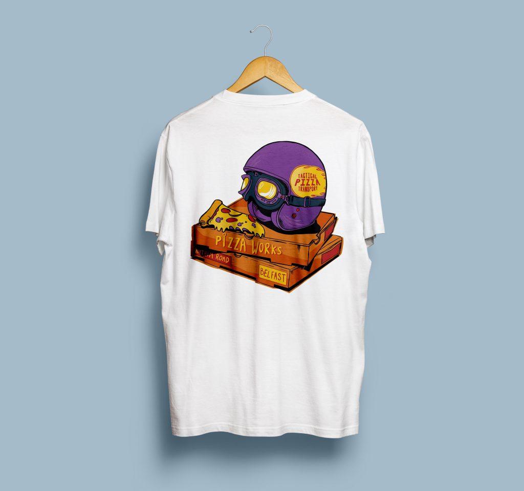 2-W-T-Shirt Mock-Up Back