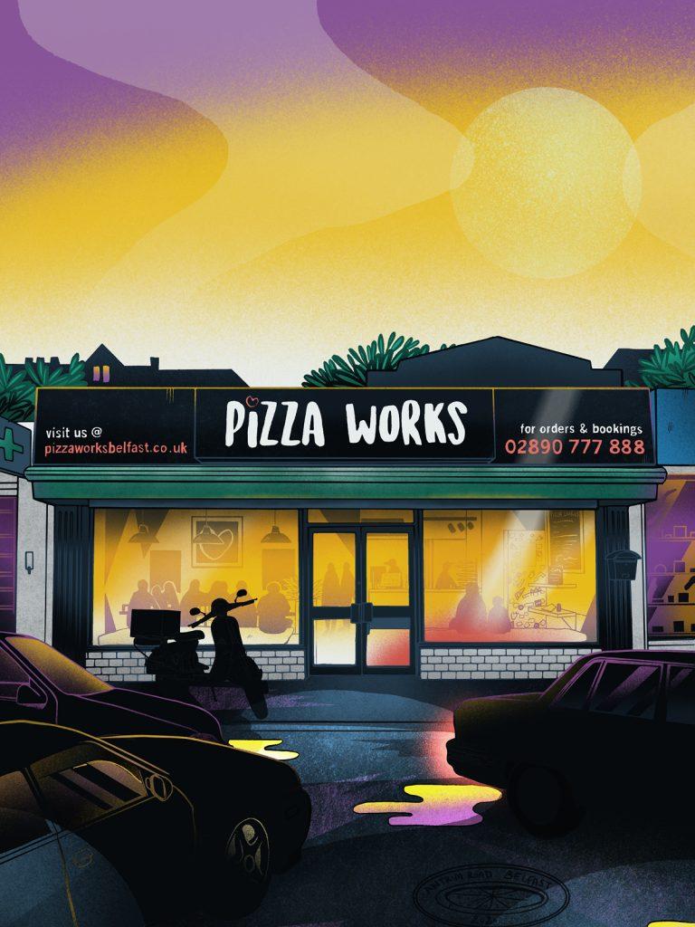 Pizza Works - Belfast
